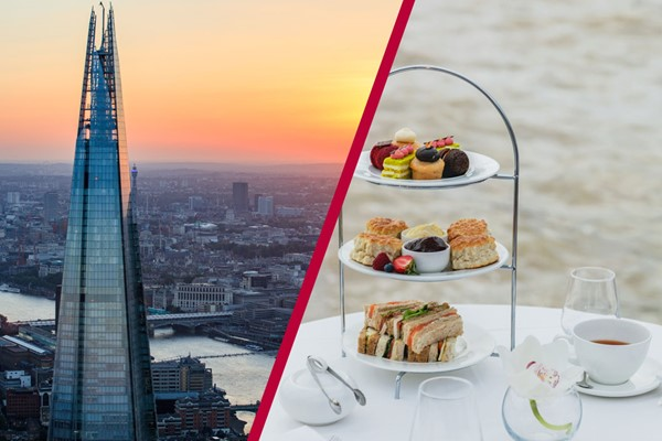 The View From The Shard And Bateaux Afternoon Tea Cruise For Two