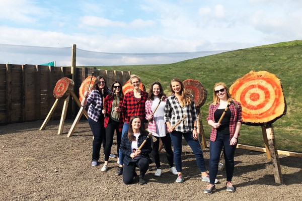 Axe Throwing Experience for Two at Yorkshire Activity Centre