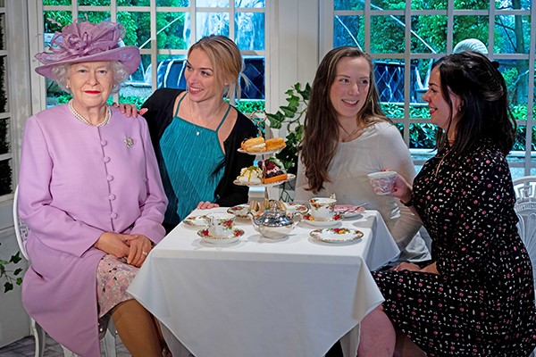 Madame Tussauds Entry and Royal Afternoon Tea for Two