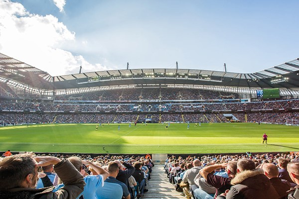 Premier League Match Day Experience At Old Trafford Or The Etihad For Two