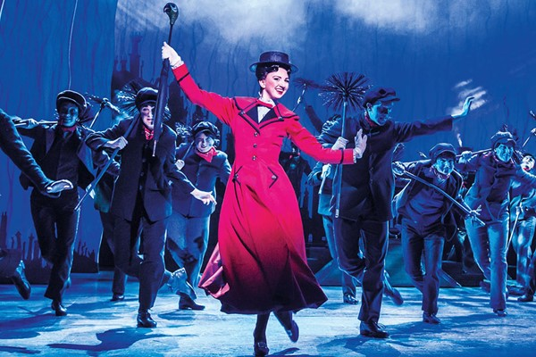 Silver Theatre Tickets to Mary Poppins for Two