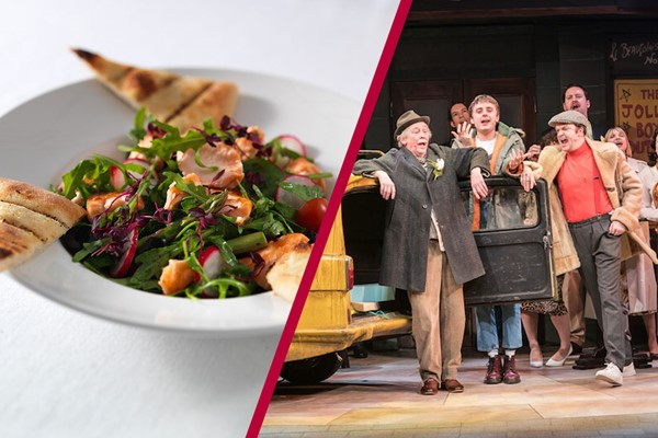 Theatre Tickets to Only Fools and Horses and a Meal with Wine for Two at Prezzo