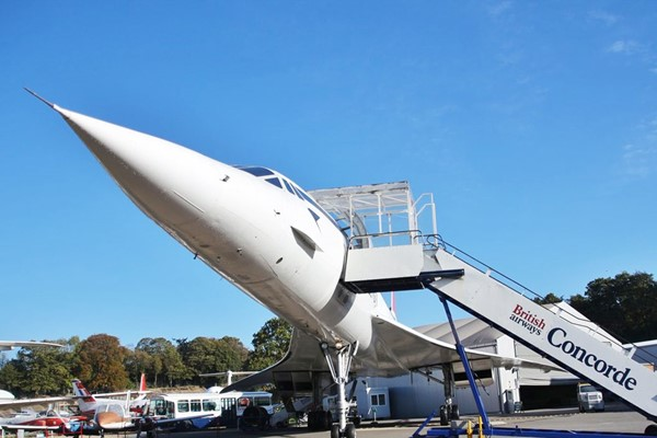 Museum Entry with Concorde Experience for Two at Brooklands Museum in Surrey