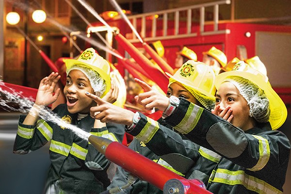 Three Hour End of Day Entry to Kidzania for Two Adults and One Child