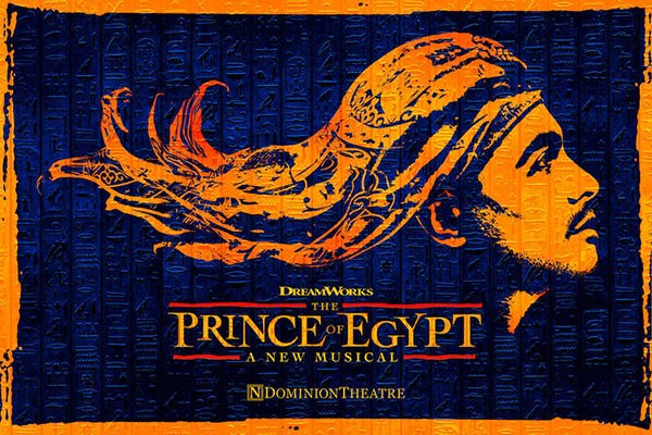 Silver Theatre Tickets to The Prince of Egypt for Two