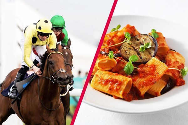 Day at the Races with Three Course Meal and Wine for Two at Prezzo