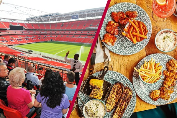 Wembley Stadium Tour And Three Course Meal At Cabana For Two