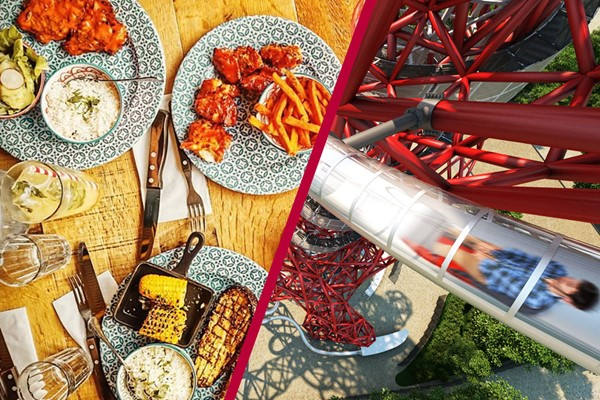 Buy Family Ticket to The Slide at The ArcelorMittal Orbit and Meal at Cabana Stratford