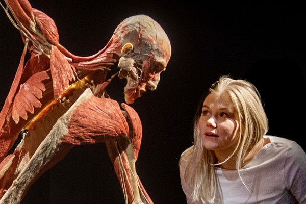 Body Worlds Museum Experience for Two Adults and Two Children