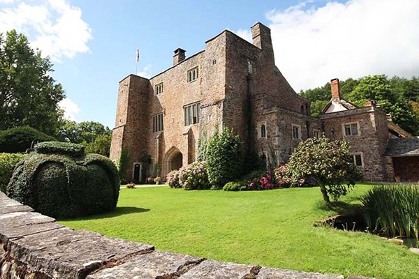 Bickleigh Castle, Grounds and Garden Tour with Cream Tea for Two