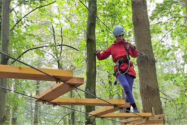 Tree Top Trials Entry to Pioneer Course for One Adult and One Child