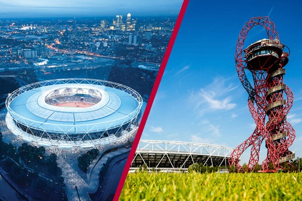 Buy London Stadium Tour and The ArcelorMittal Orbit View for Two