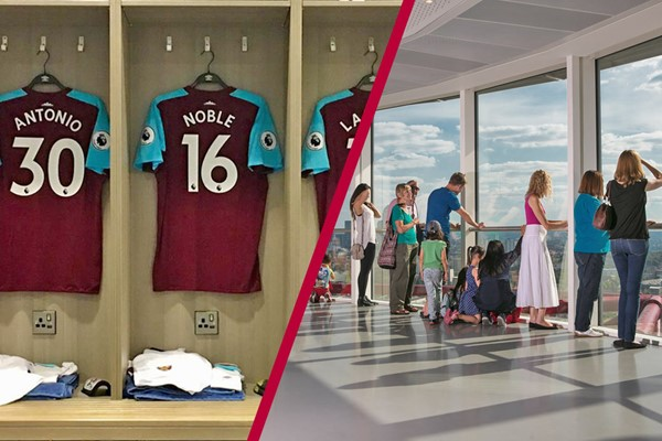 Buy London Stadium Tour and The ArcelorMittal Orbit View - Family Ticket