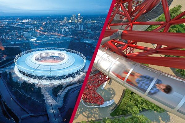 Buy London Stadium Tour and The Slide at The ArcelorMittal Orbit for Two