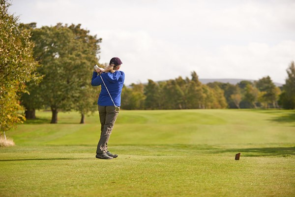 One Hour Golf Lesson with a PGA Professional and Lunch for Two at Dalmahoy Hotel and Country Club