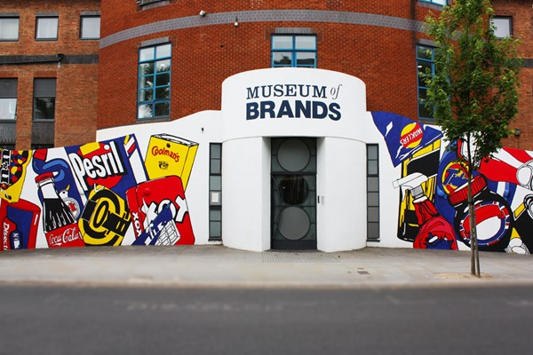 Museum Entry with a Cream Tea and Fizz for Two at Museum of Brands