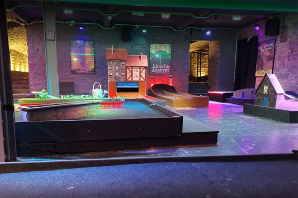 9 Hole Mini Golf for Two Adults and Two Children at Scrapheap Golf