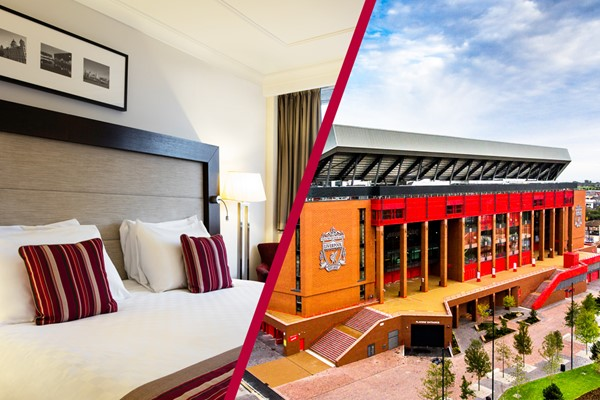 Overnight Break at Mercure Liverpool Atlantic Tower and Liverpool FC Anfield Stadium Tour for Two