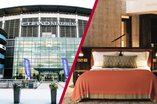 One Night Stay at Hotel Brooklyn with Manchester City Etihad Stadium Tour for Two Adults