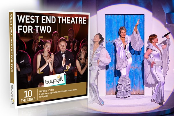 West End Theatre for Two Experience Box