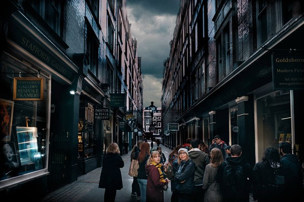 Harry Potter Walking Tour for Two Adults and Two Children