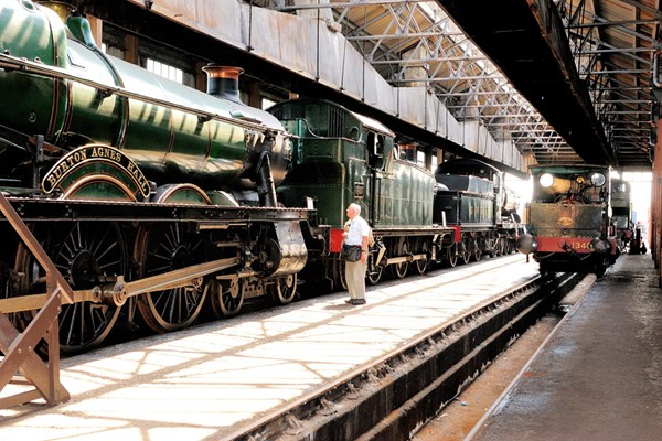 Steam Day and Museum Entry with Tea and Cake for Two at Didcot Railway Centre