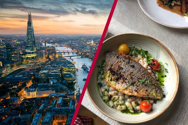 The View from The Shard and a Three Course Meal for Two at a Gordon Ramsay Restaurant