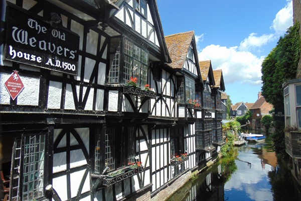 Guided Sightseeing Tour of Canterbury for Four People