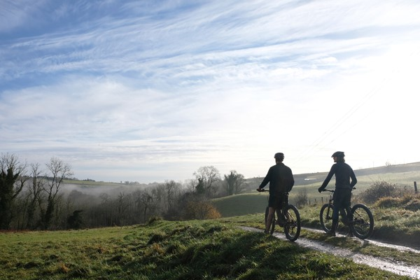 Full Day Guided Cycling Tour with Lunch for One at Wild Carrot
