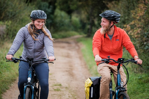 Half Day Guided Cycling Tour with Refreshments for One at Wild Carrot