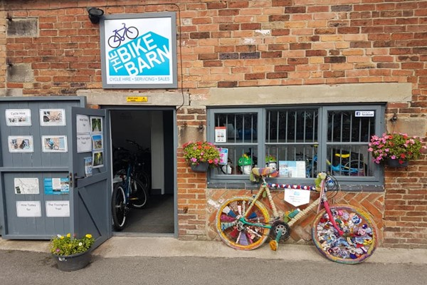 One Day Electric Bike Hire in Derbyshire for Two at The Bike Barn