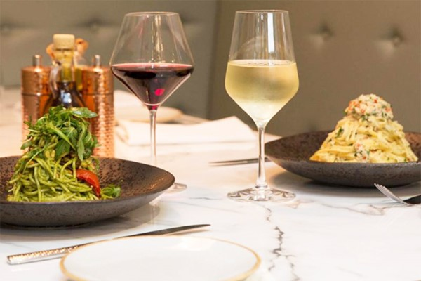 3 Course Meal and a Glass of Wine for Two at Convive Restaurant