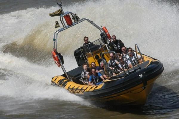Thames rib ride