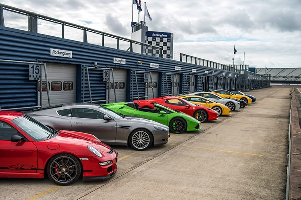 Six Supercar Driving Thrill with Free High Speed Passenger Ride - Weekround