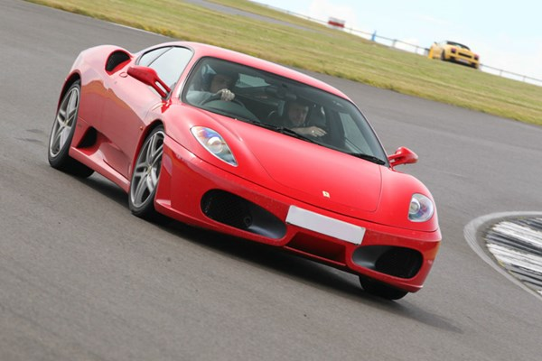 Supercars Driving Thrill at a Top UK Race Track