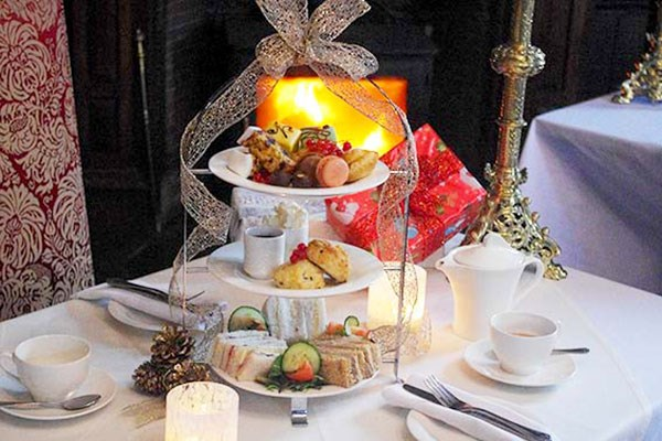 Afternoon Tea with Fizz for Two at Appleby Castle