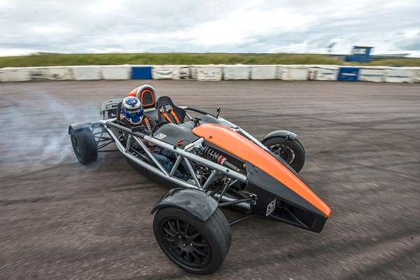 Ariel Atom Driving Blast with High Speed Passenger Ride