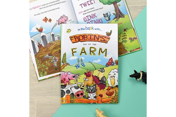 Personalised My Day at the Farm Storybook