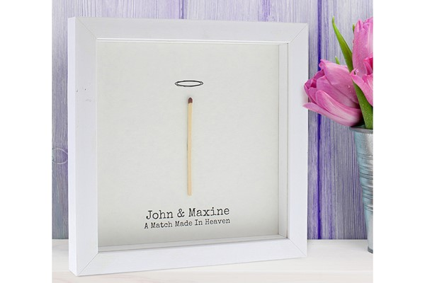 Personalised A Match Made in Heaven Framed Print