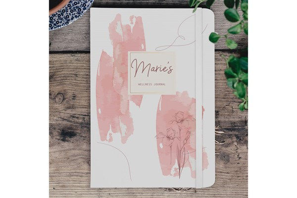 Blush Floral A5 Notebook