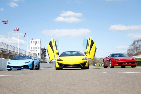 Triple Supercar Driving Blast at Goodwood for One