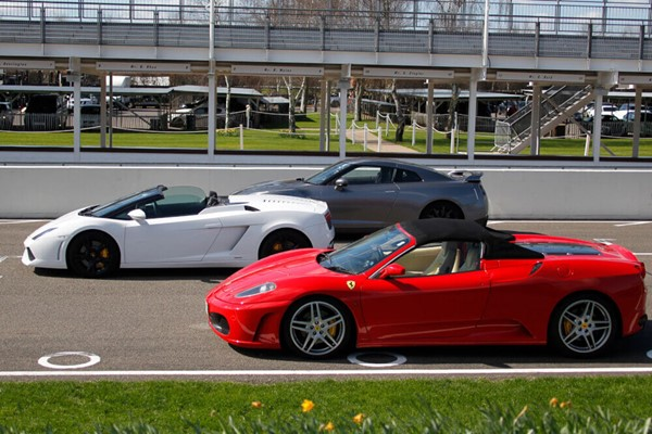 Triple Supercar Driving Thrill at Goodwood for One