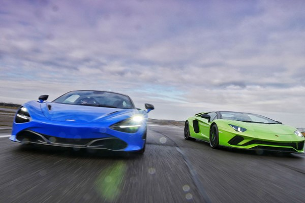 Double Supercar Driving Blast at Goodwood for One