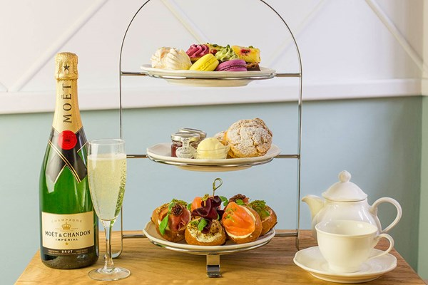 Moet Champagne Afternoon Tea for Two at Beas of Bloomsbury