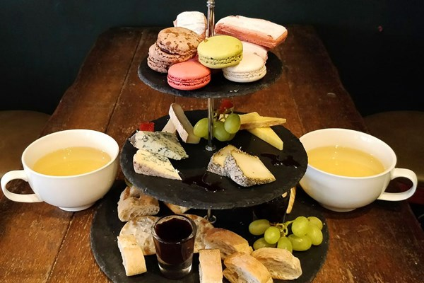 Afternoon Tea for Two at Champagne Plus Fromage