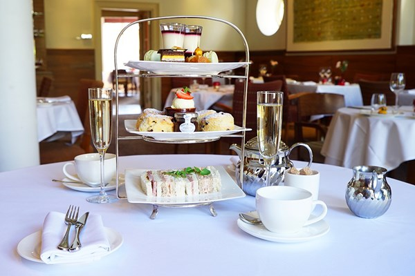 Champagne Afternoon Tea for Two at Cotswold House Hotel