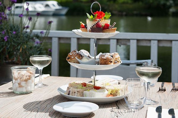 Afternoon Tea with Fizz for Two at The Folly Restaurant