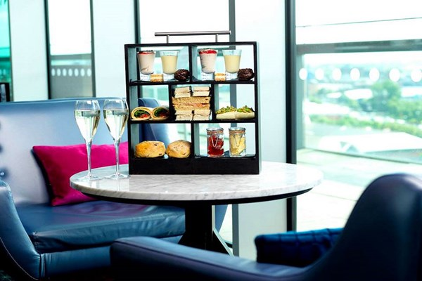Bottomless Fizz Afternoon Tea for Two at DoubleTree by Hilton Hotel Leeds