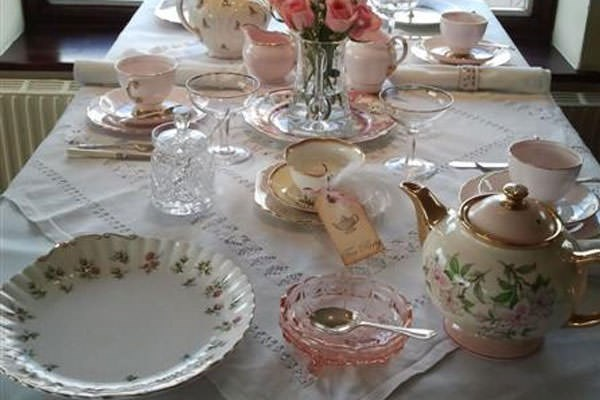 Champagne Vintage Afternoon Tea For Two At Horsley Lodge