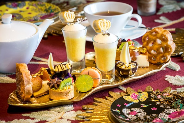 Jasmine Indian Afternoon Tea for Two at Taj 51 Hotel
